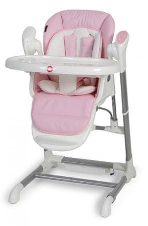 Top Mark XAVI Jídelní židle a houpačka 2v1, Růžová