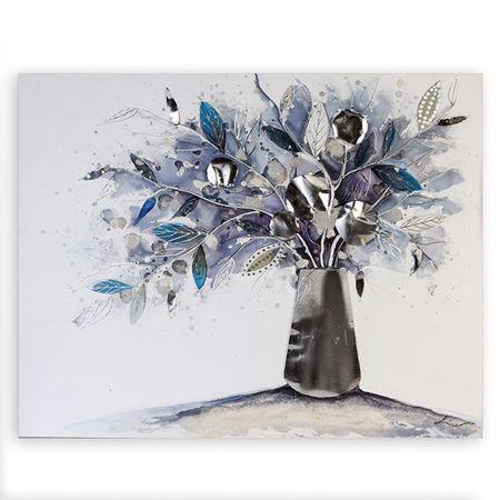 Papillon Obraz Vase of Flowers 100 cm, olej na plátne