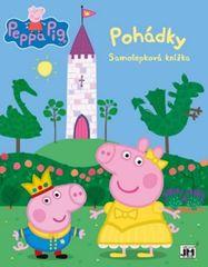 Peppa - Pohádky - Samolepková knížka