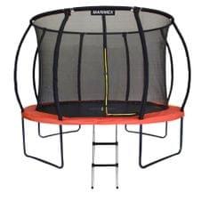 Marimex trampolin Premium z zaščitno mrežo in lestvijo, 305 cm