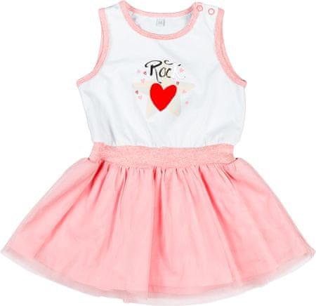 9701919dd821 MMDadak dievčenské šaty Rock Star 110 ružová