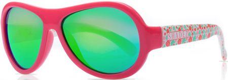 Shadez Dívčí sluneční brýle Designers Teeny 3-7 růžové