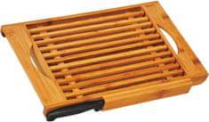 TimeLife daska za rezanje kruha s nožem, od bambusa