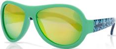 Shadez Chlapčenské slnečné okuliare Designers s listami - zelené