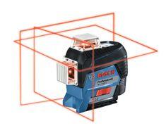 BOSCH Professional linijski laser GLL 3-80 C + laserski sprejemnik LR7 v L-Boxx-u (0601063R05)