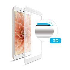 Fixed FIXED 3D Full-Cover keményített védőüveg Apple iPhone 6/6S Plus számára, teljes kijelzőre, fehér