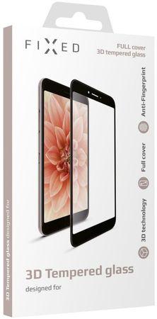 Fixed 3D Full-Cover ochranné tvrzené sklo pro Huawei P10 lite, černé - rozbaleno