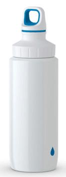 TEFAL DRINK2GO rozsdamentes acél palack 0,6 l 0,6 fehér/kék