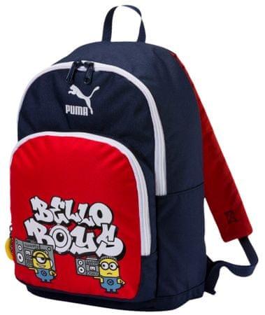 Puma Fiú hátizsák Minyonok - kék/piros