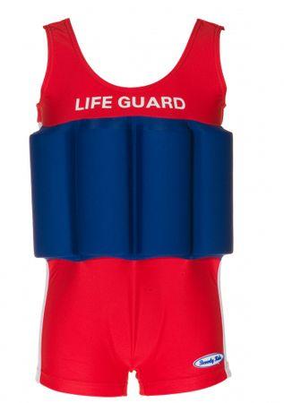 Beverly Kids Chlapecké nadnášející plavky LifeGuard 104 červeno-modré