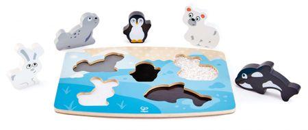 Hape drvene puzzle Polarne životinje