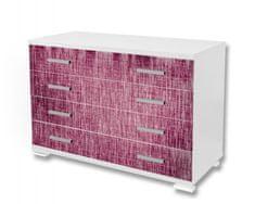 Dimex Nálepky na nábytok - Fialová štruktúra, 85 x 125 cm