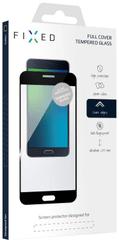 Fixed Full-Cover ochranné tvrdené sklo pre Samsung Galaxy A8 (2018), čierne FIXGF-261-033BK