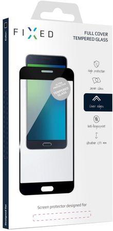 Fixed keményített védőüveg Samsung Galaxy J3 (2017) számára, teljes kijelzőre, fekete FIXGF-166-033BK