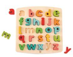 Hape puzzle Šarena abeceda