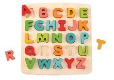 Hape puzzle abeceda