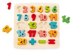 Hape puzzle Brojevi