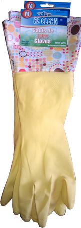 TORO Dlhé latexové rukavice zelené