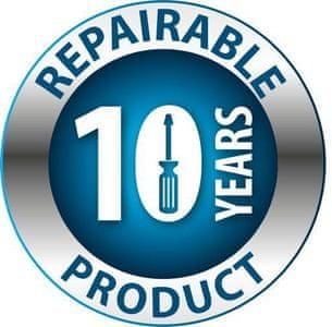 10letá záruka na opravu produktu