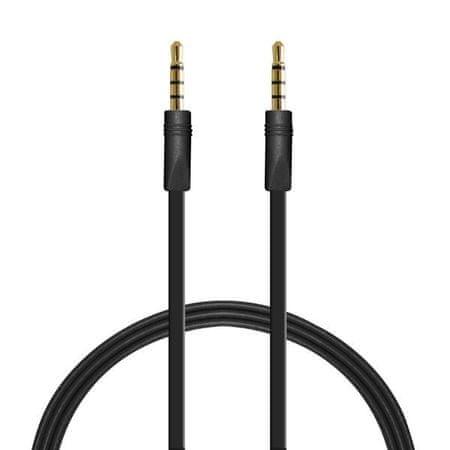 Puro kabel jack-jack 3,5 mm, 1m črn