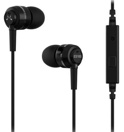 SoundMAGIC ES18S In-Ear Fülhallgató, ezüst/fekete