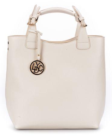 Lydc ženska torbica Pure, smetane