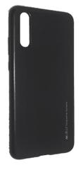 Goospery Silikonska maska i-Jelly Metal za Huawei P20 Lite, crna