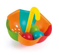 Hape zestaw zabawek do wody - parasol i kulki