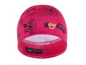 good2go dívčí funkční čepice Dolomiti 40 - 43 růžová