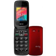 eStar mobilni telefon S20, rdeč