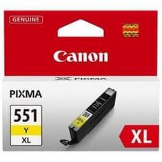 Canon CLI-551, XL, rumena
