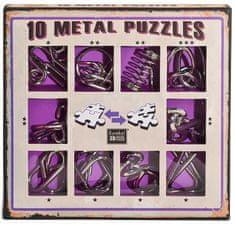 Albi Sada 10 hlavolamov kov - fialová