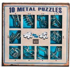 Albi Sada 10 hlavolamov kov - modrá