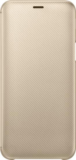 Samsung Flipové pouzdro pro Samsung Galaxy J6 2018, zlatá EF-WJ600CFEGWW - rozbaleno