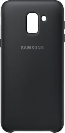 SAMSUNG dvojvrstvový ochranný kryt pre Samsung Galaxy J6 (J6 - 2018), čierna EF-PJ600CBEGWW