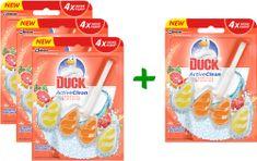 Duck Active Clean Tropical Sunshine 3 + 1 ks