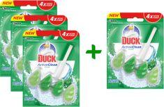 Duck Active Clean Pine 3 + 1 ks
