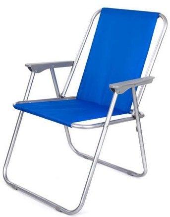 Happy Green krzesło plażowe, niebieskie