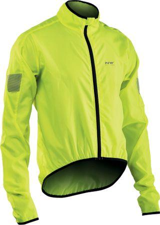 Northwave moška kolesarska jakna Vortex jakna Yellow Fluo, rumena, XL