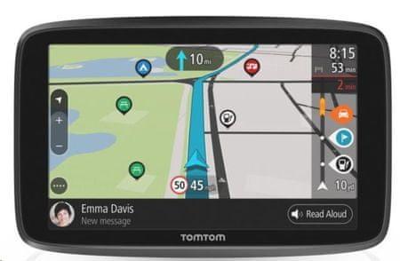 TomTom nawigacja GO CAMPER WORLD (EMEA), Connected, wszystkie mapy świata