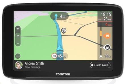 """TomTom nawigacja GO BASIC 5"""" EU45 T (EMEA), dożywotnio mapy Europy"""