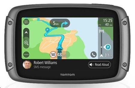 TomTom Rider 500, Europe LIFETIME térkép (45 ország) élethosszig tartó aktualizálható Európa térképpel