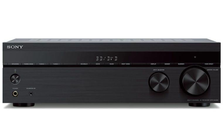 AV reciver Sony STR-DH590 4K HDR lepší jas a kontrast zřetelnější obraz HDR10 HLG Dolby vision