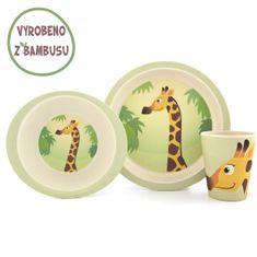 Yookidoo Yuunaa Sada nádobí - Žirafa