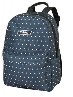 Target nahrbtnik Tik Tak, Dots Black (21943) - Odprta embalaža
