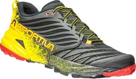 La Sportiva Akasha Black/Yellow 45,5 futócipő