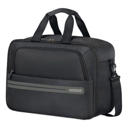 American Tourister torba Boarding Bag Summer Voyager, črna