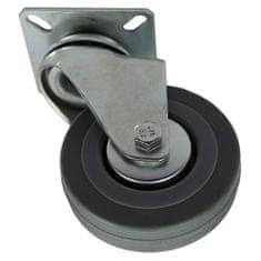 Popar rotirajući transportni kotač, 75 mm, 70 kg