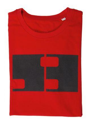 MFF Karlovy Vary dámské červené tričko S