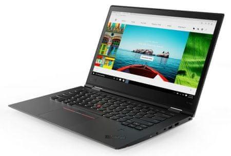 Lenovo prijenosno računalo ThinkPad X1 Yoga 3 i7-8550U/16GB/SSD512GB/14WQHD/W10P, crni (20LD002MSC)
